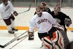 Men's Hockey Receives Belated X-Mas Gift - Flyers Goalie Robert Esche Joins Staff