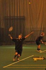 Tennis Teams Leap Over Leopards