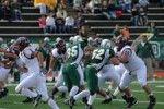 Football Defeats Big Green Monster