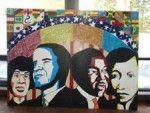 ALANA Alert - Black History Month Mural Goes Up
