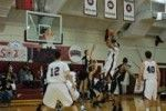 Men's Basketball Protects Cotterell Against League Foes