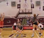 Volleyball Earns 2-1 at Colgate Classic