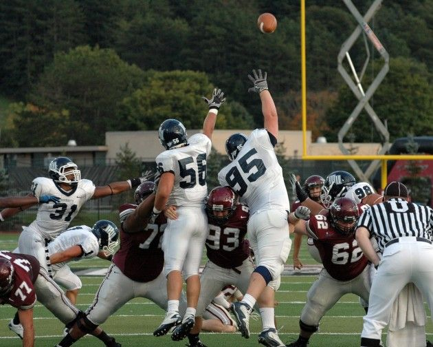 Football Grounds Monmouth; Wins 30-29