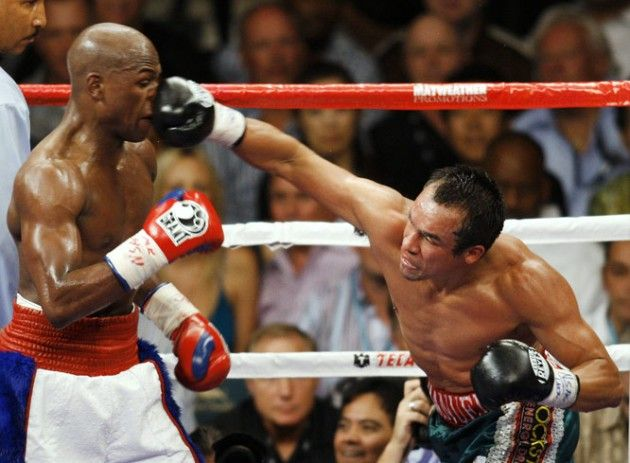 Floyd Mayweather Takes a Hit