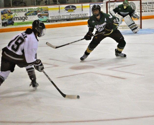 Women's Hockey Falls to Wayne State
