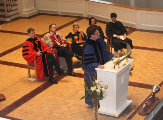 President Herbst Inaugurated