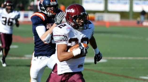 Football Maintains Second Place in Patriot League Standings