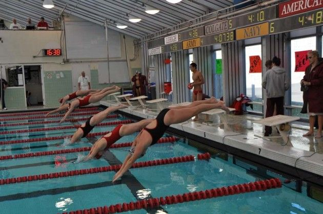 Swimming and Diving Faces Boston Opponents