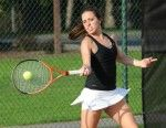Men's and Women's Tennis: Swinging Low to High