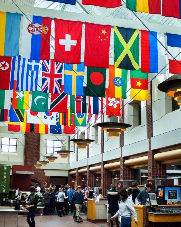 Flags+in+Frank+Reflect+Diversity+of+Student+Body
