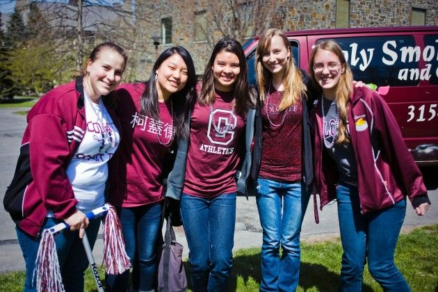 Colgate+Day+Celebrated+Across+Campus