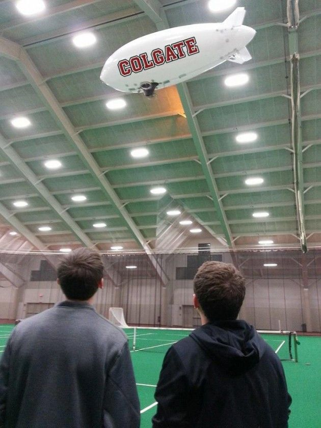 Colgate Aviation Club Purchases Dirigible