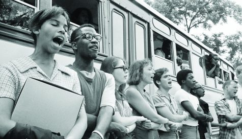 """Raiders read: Incoming first-years were assigned """"Freedom Summer,"""" a historical account of the summer of 1964."""