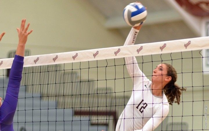Volleyball Earns Narrow Victory Over Niagara Raiders Place Second in Patriot League Preseason Poll