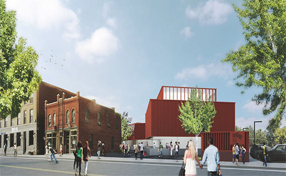 Official Plan for Downtown Center for Art and Culture Released by University