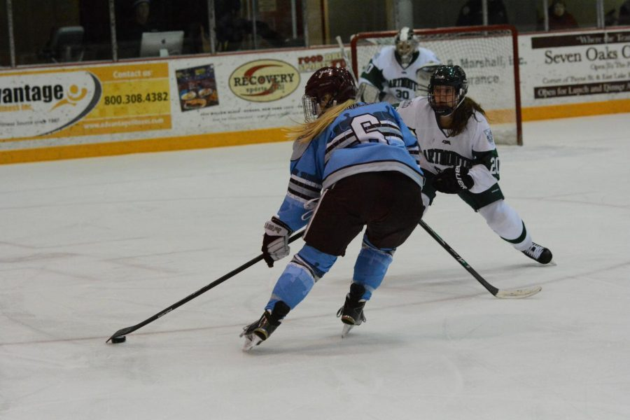 Women's Hockey Loses to Dartmouth and Harvard