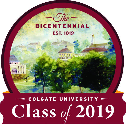 Colgate, established in 1819, will be open for 200 years, just as the Class of 2019 graduates.