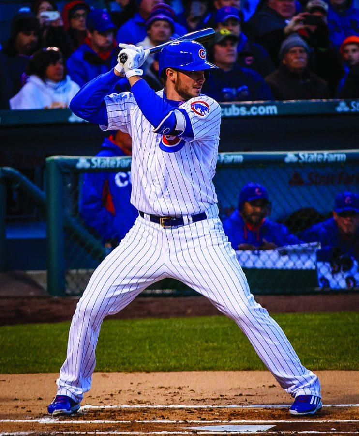 Kris+Bryant+and+his+monster+swing+will+try+to+lead+the+Chicago+Cubs+to+their+first+World+Series+title+since+2008.