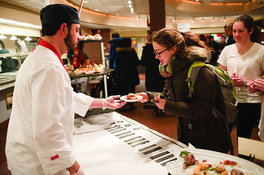 Colgate Students have been eager for the new food provided by Chartwells, only to be disappointed by lack of variety.