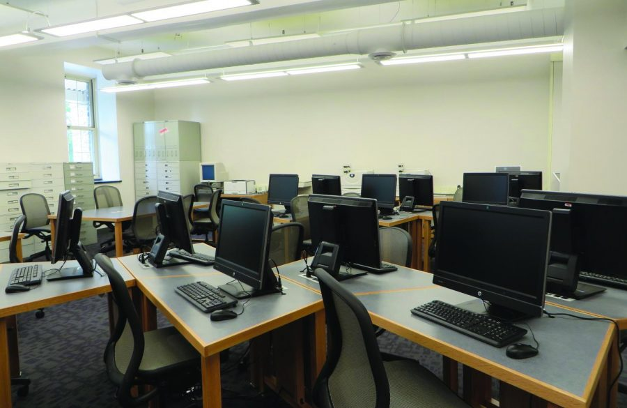Over the summer, the George R. Cooley Science Libraryunderwent a facelift.