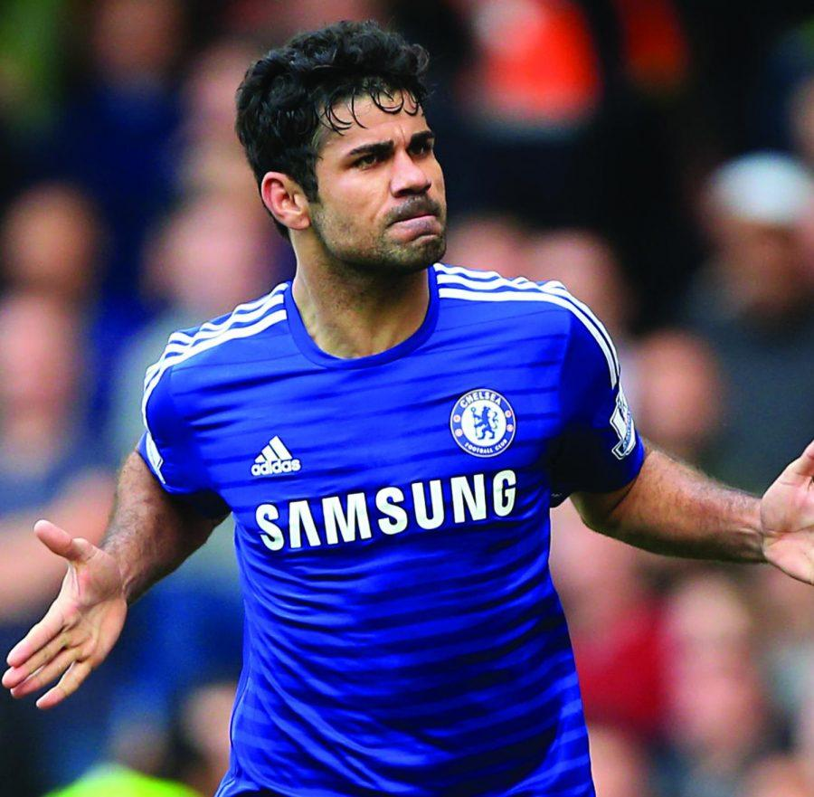 Chelsea striker Diego Costa is one of the many dominant forces leading his respective club in pursuit of a Premier League crown