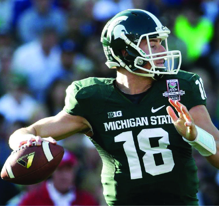Michigan State senior quarterback Connor Cook led the Spartans to a crucial home opening win against PAC-12 power Oregon.