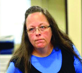 Kim Davis refused to issue marriage licenses to same-sex couples, citing her religious beliefs,