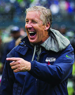 Pete Carroll leads Russell WIson and company as they begin their quest to revenge last season's heartbreaking Super Bowl defeat.