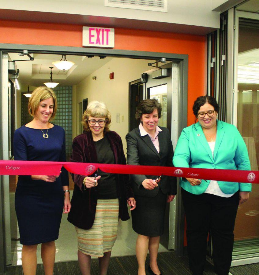 Center for International Programs opens in McGregory Hall.