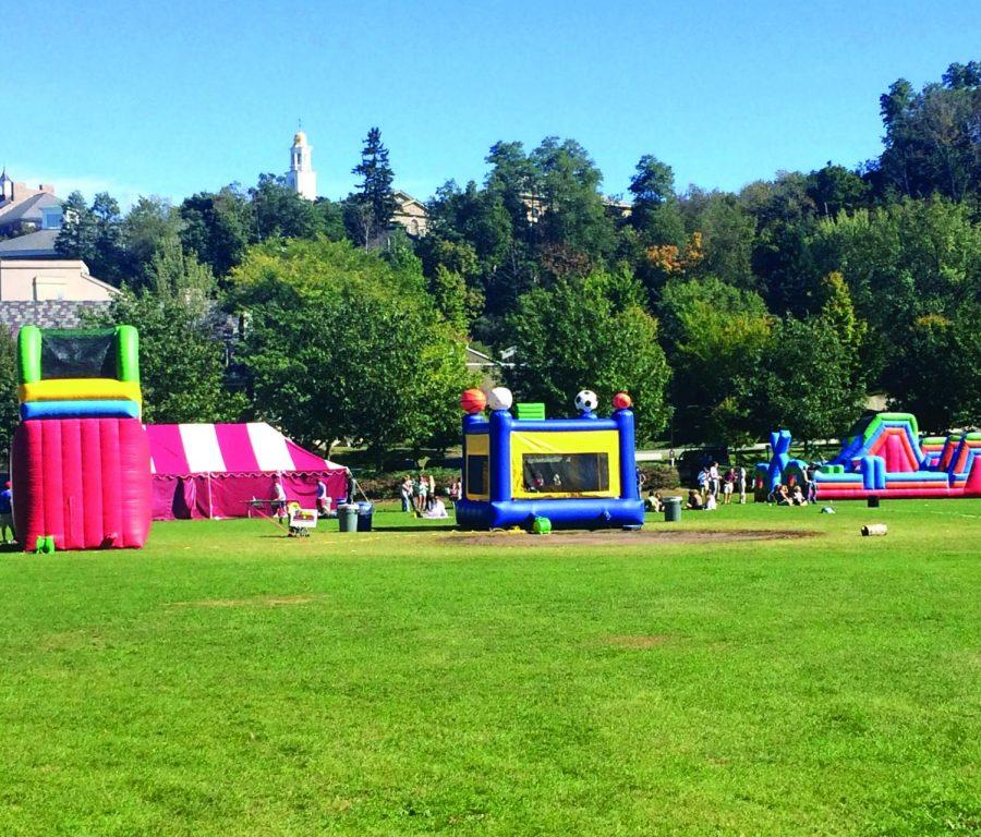 This fun-filled event on Whitnall Field entertained both students and families.