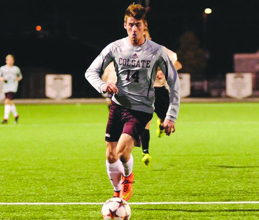 Junior Forward Ethan Kutler has established himself as the Raiders' biggest offensive threat; he led the charge in the Raiders' win over American.