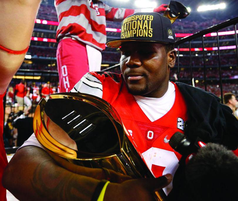 Cardale+Jones+has+provided+Ohio+State+fans+with+excitement+on+and+off+the+field+in+his+short+time+in+Columbus.