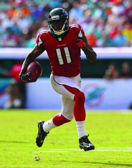 Julio Jones has been the top fantasy wide receiver for the first three weeks of the NFL season.