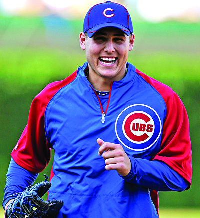 Anthony Rizzo looks to lead the Cubs to the World Series.