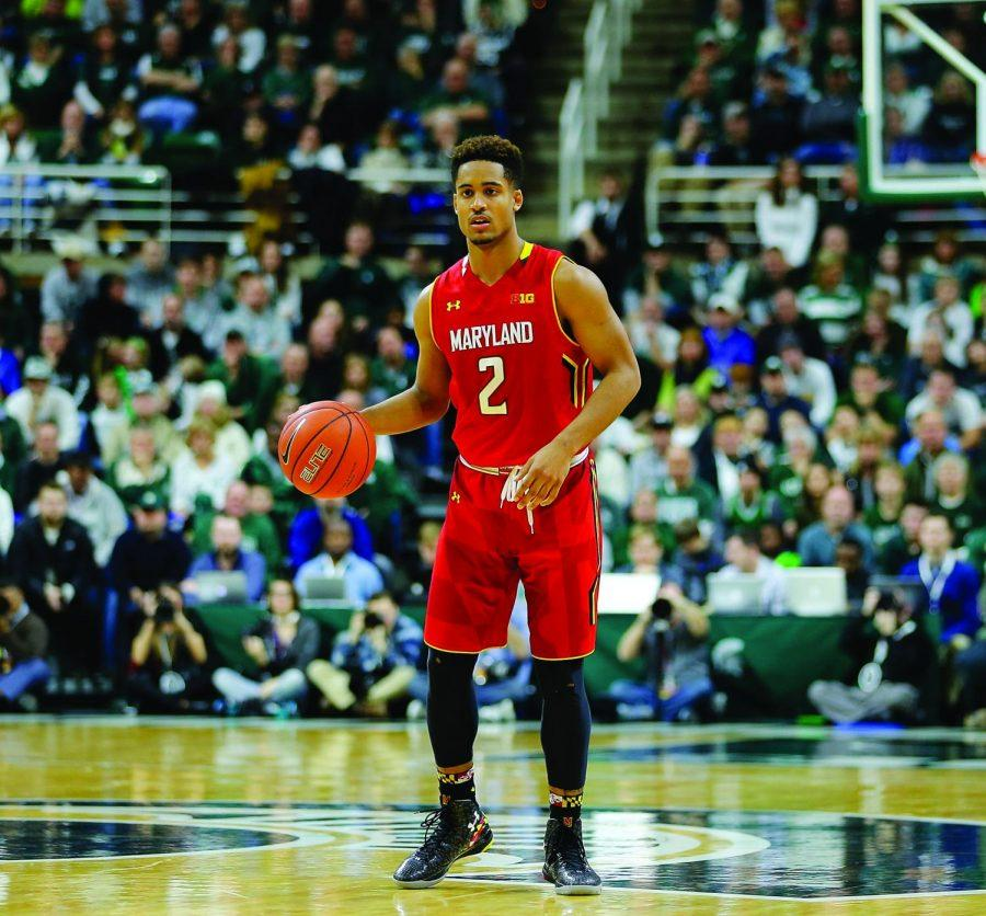 The NBA-ready point guard Melo Trimble is poised to lead his team deep into the NCAA Tournament this coming March.