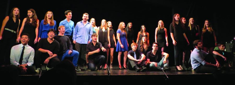 Colgate students performed an eclectic collection of songs during the bi-annual Cabaret.