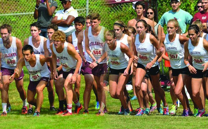 Both the men and women's cross country teams participated in the Patriot League Championship race held here at Colgate this past weekend; the men placed ninth on the day and the women placed tenth on the day.