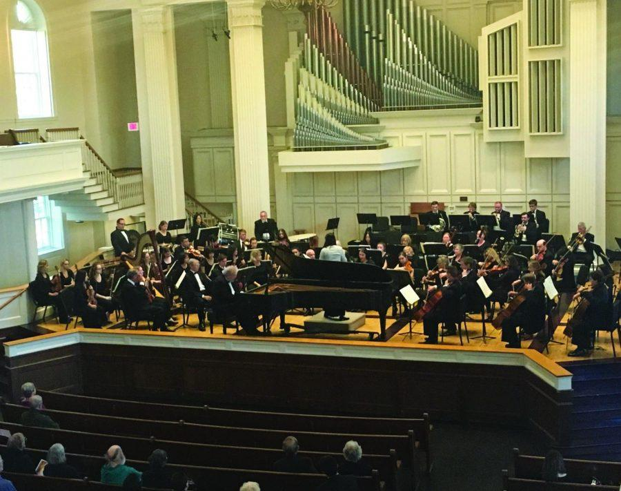 The Colgate Orchestra impressed once again and received a standing ovation from the audience.
