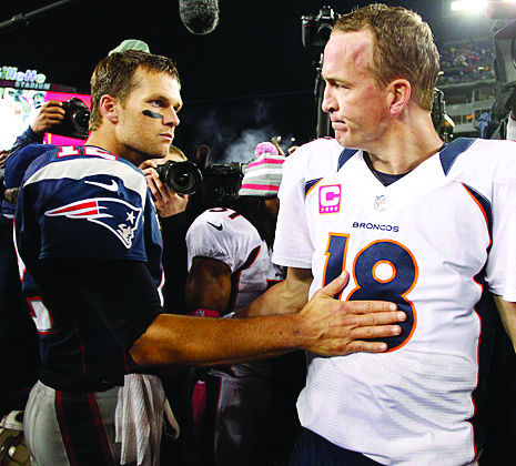 In their fourth head-to-head AFC Championship, Peyton Manning came out victorious over Tom Brady behind his stellar defense.