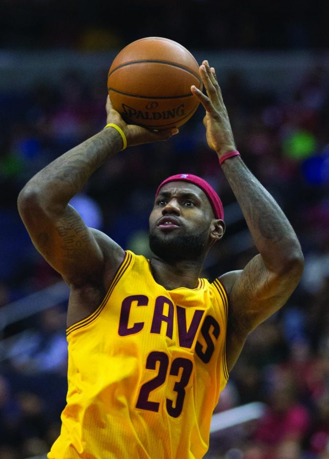 LeBron+James+has+the+intangibles+to+play+a+variety+of+sports.