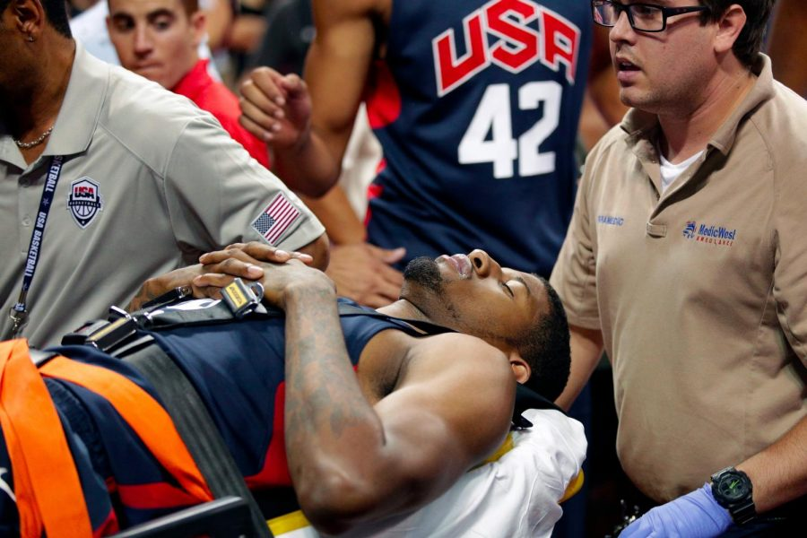 Pacers star Paul George has now made his return to television screens across the country after overcoming a gruesome injury in 2014.