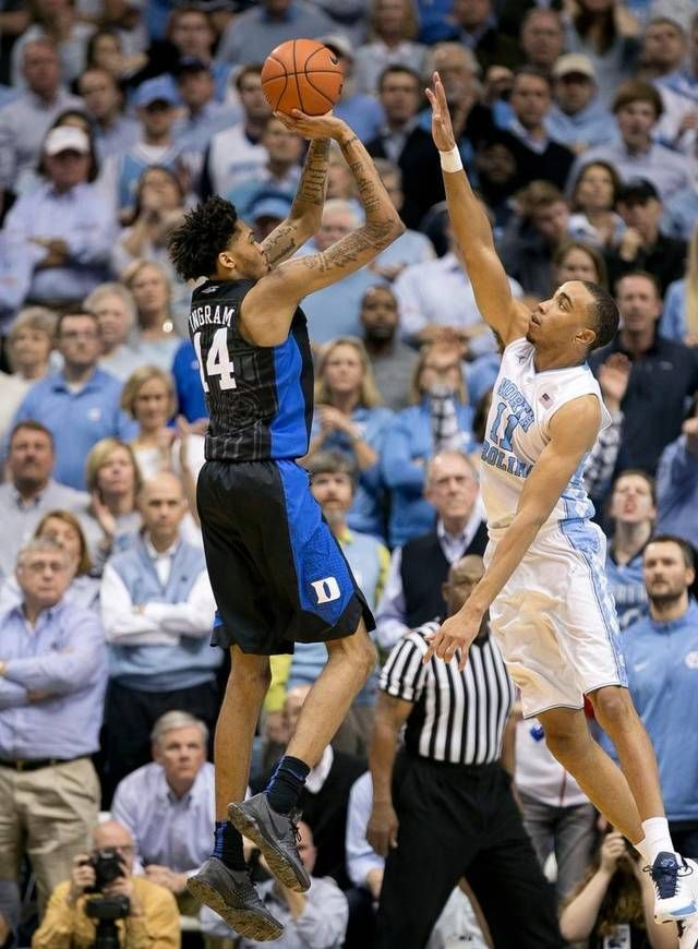 Behind+freshman+phenom+Brandon+Ingram%2C+the+Blue+Devils+took+care+of+business+on+the+road+against+North+Carolina.