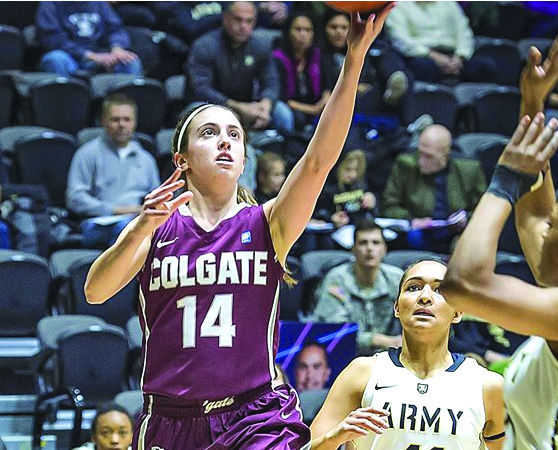 Senior captain Paige Kriftcher led the Raiders in the offensive zone in both Patriot League Tournament games.