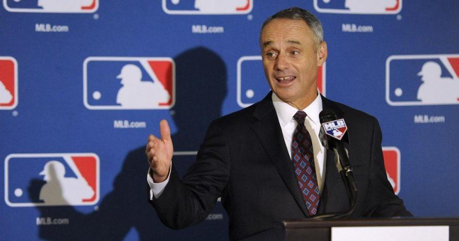 Colgate+announces+MLB+commissioner+to+speak+at+2016+commencement.
