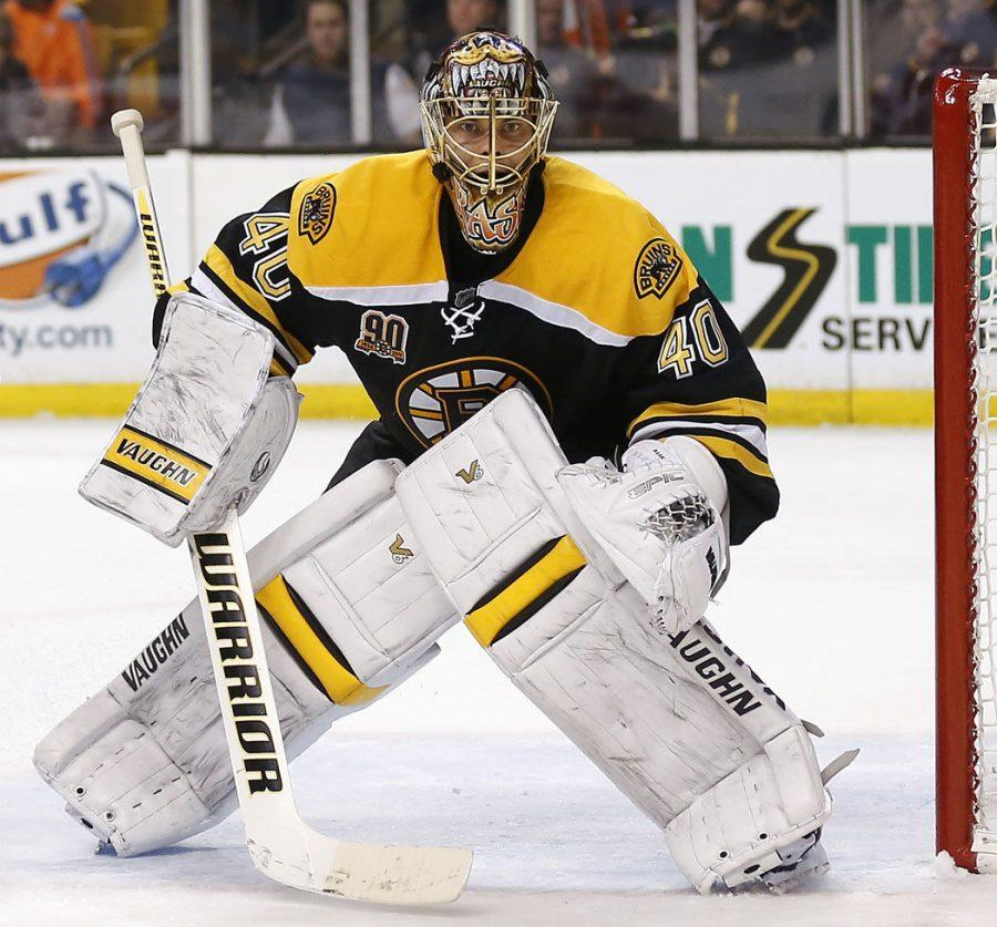 The Bruins goalie's struggles have sent Boston into a recent tailspin, threatening their playoff chances.