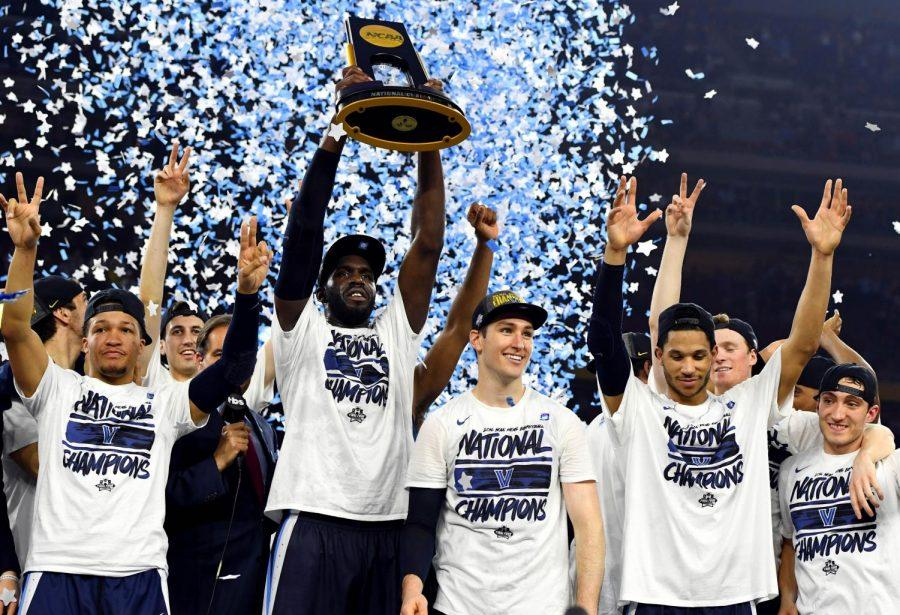 The Wildcats celebrate their second National Championship in style after beating North Carolina, as senior stars Ryan Arcidiacono and Daniel Ochefu will leave the Main Line as Villanova legends.