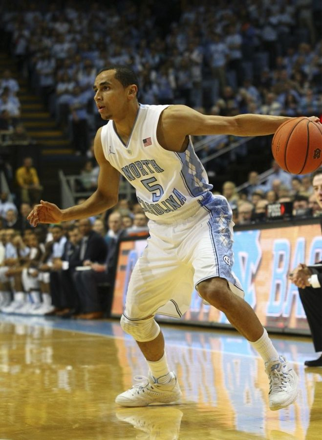Marcus+Paige+and+his+deadly+three-point+shooting+led%C2%A0+a+veteran-laden+Tar+Heels+team+all+the+way+to+the+National+Championship+game.%C2%A0
