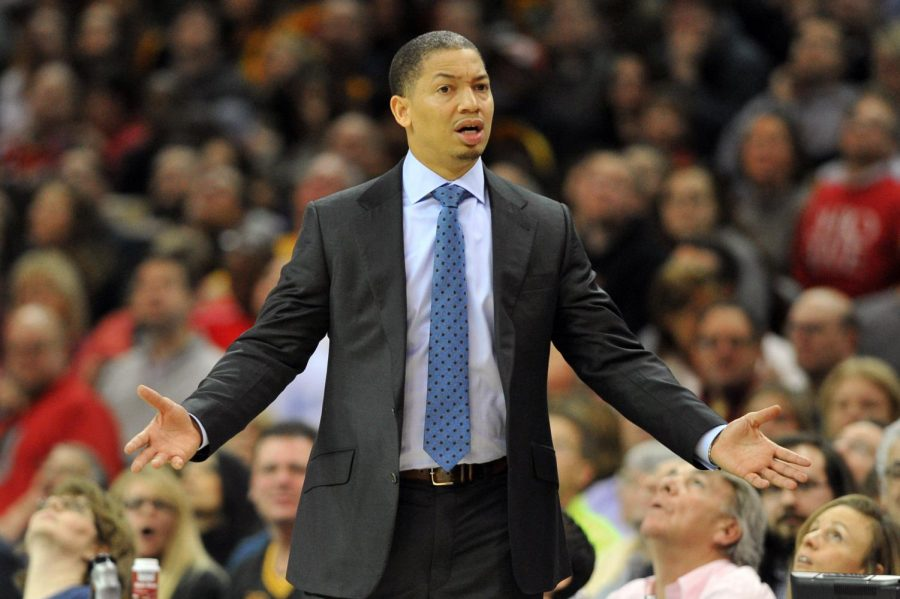 Rookie coach Tyronn Lue has been thrown into the fire of the Cavaliers organization and its fanbase, all with hopes of a championship.