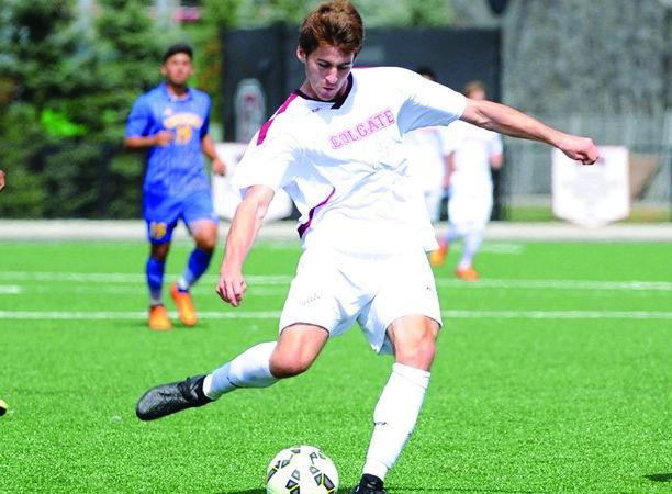 Men's Soccer Ties Hartwick 3-3, Bests Navy 1-0