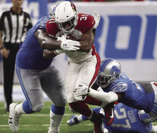 Star running back David Johnson broke his wrist in week one and is expected to be out for two to three months.
